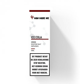 "Man Made Nic - Ice Cola ""Nic Salt"""