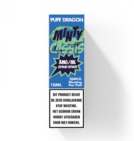 Puff Dragon - Minty Cassis