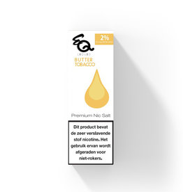 EQ - Butter Tobacco (Nic Salt) 2%
