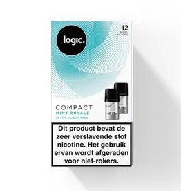 Logic Compact Pod - Mint Royale - 2Pcs