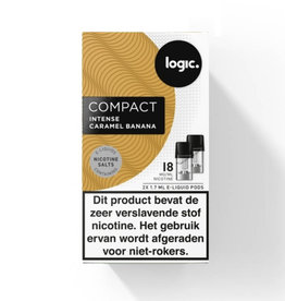 Logic Compact Pod - Intense Caramel Banana - 2Pcs