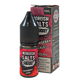 Moreish Puff Nic Salt Sherbet Strawberry Laces