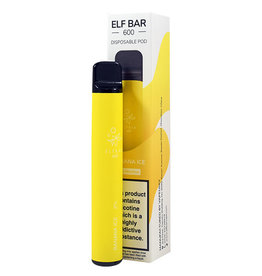 Pod Salt Disposable Vape Device Banana Ice