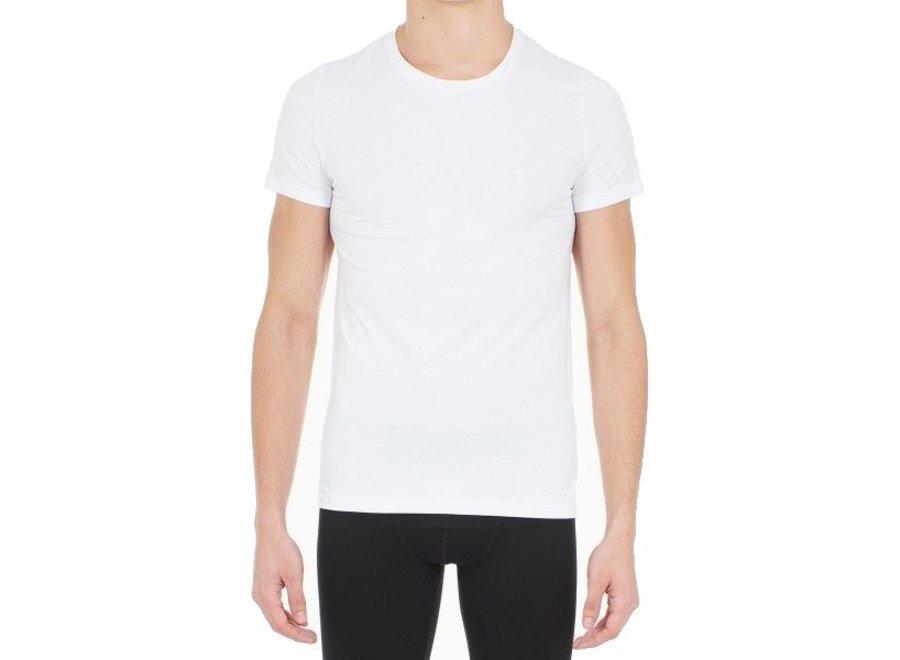 Supreme Cotton Tee-Shirt Crew Neck White