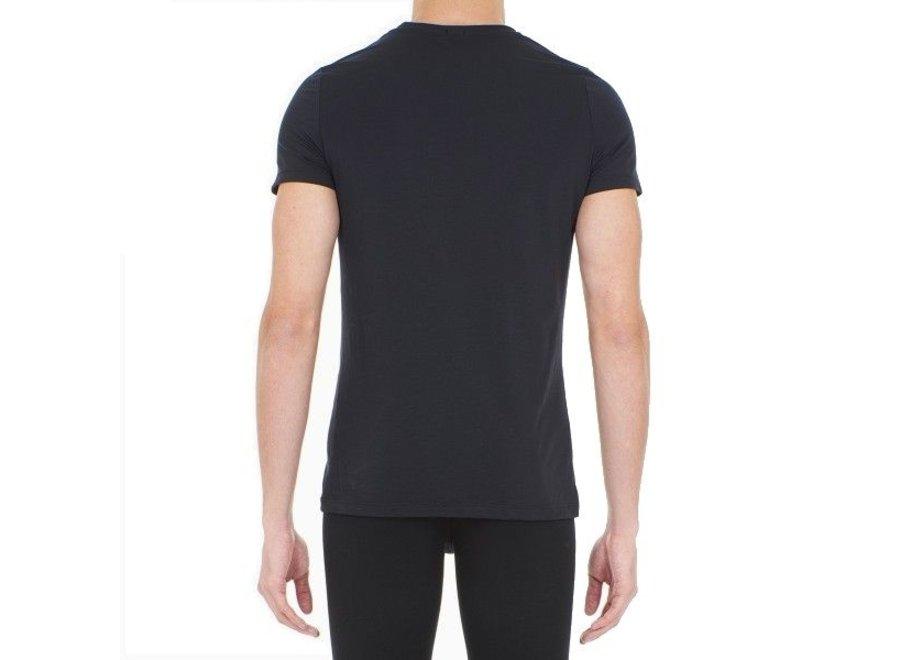 Supreme Cotton Tee-Shirt Crew Neck Black