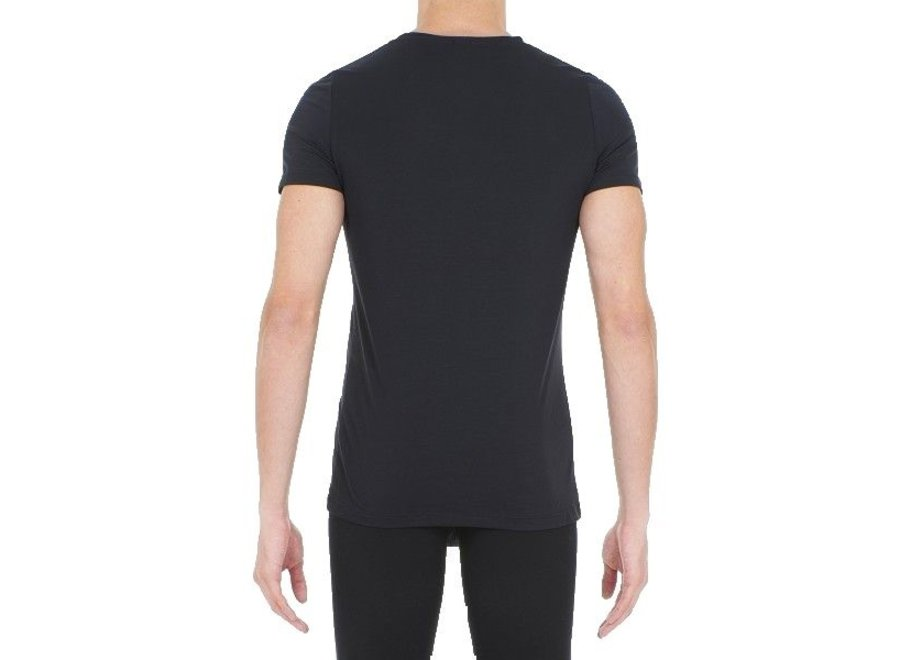 Supreme Cotton Tee-Shirt V Neck Black