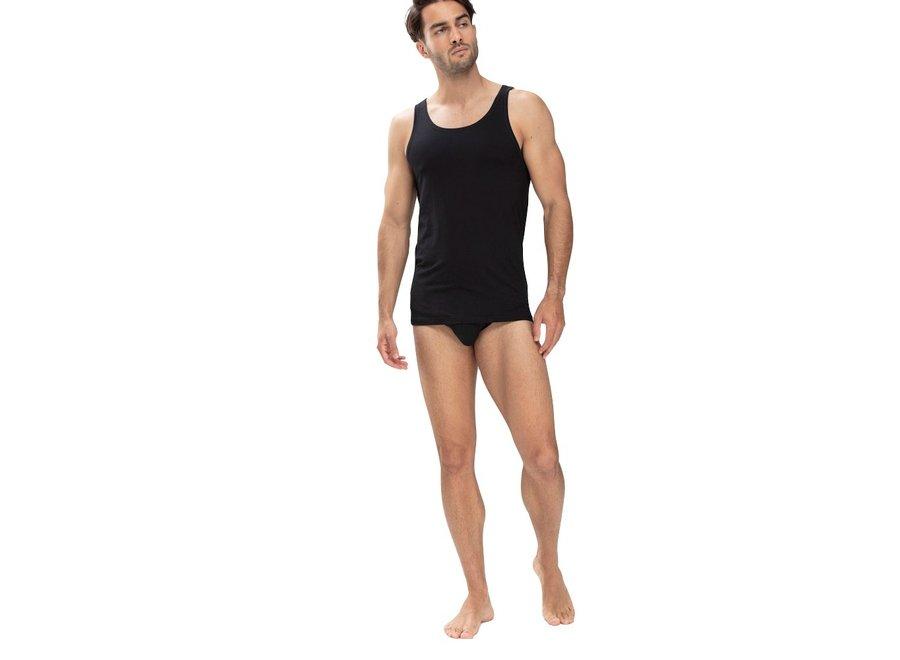 Dry Cotton Athletic Shirt Black