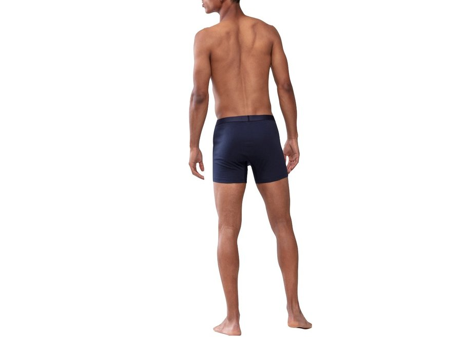 Casual Cotton Trunk Shorts Yacht Blue