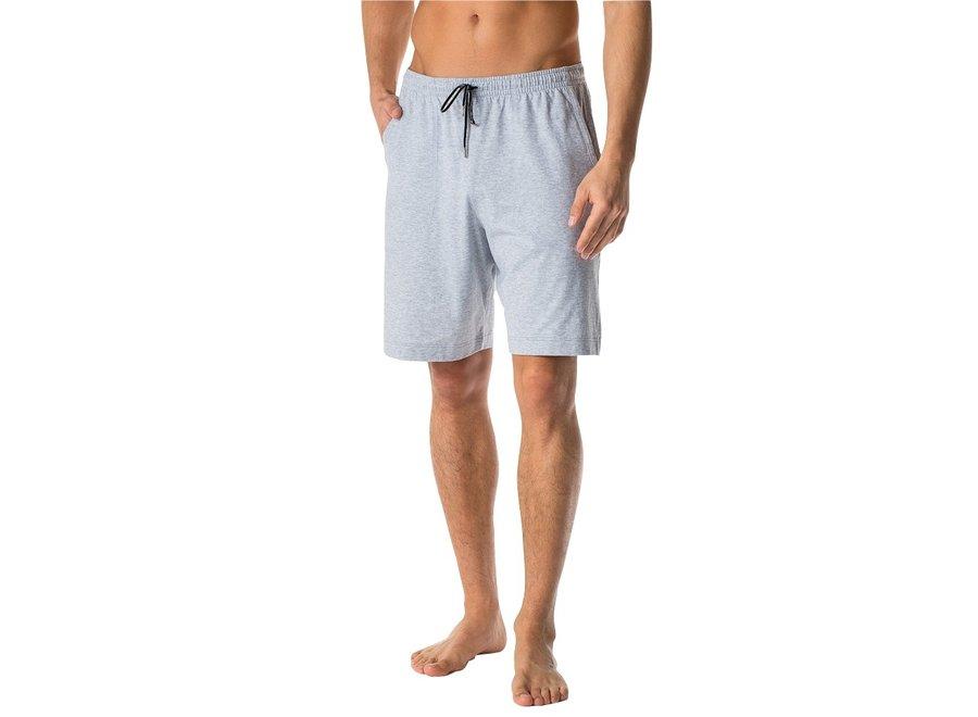 Club Collection Short Pants Light Grey Melange