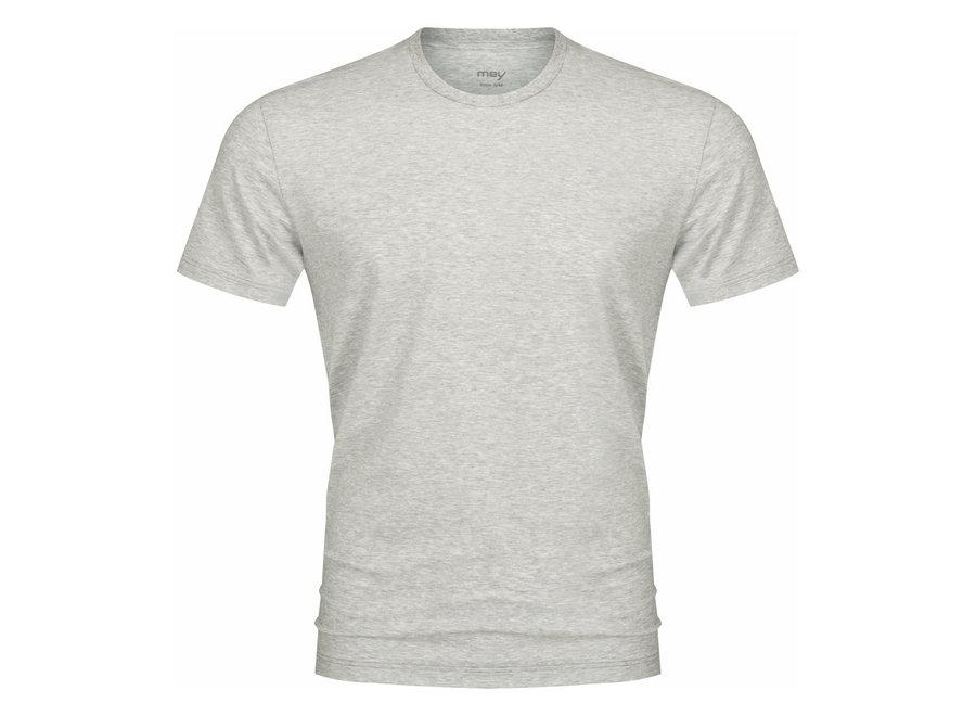 Club Collection T-Shirt Light Grey Melange