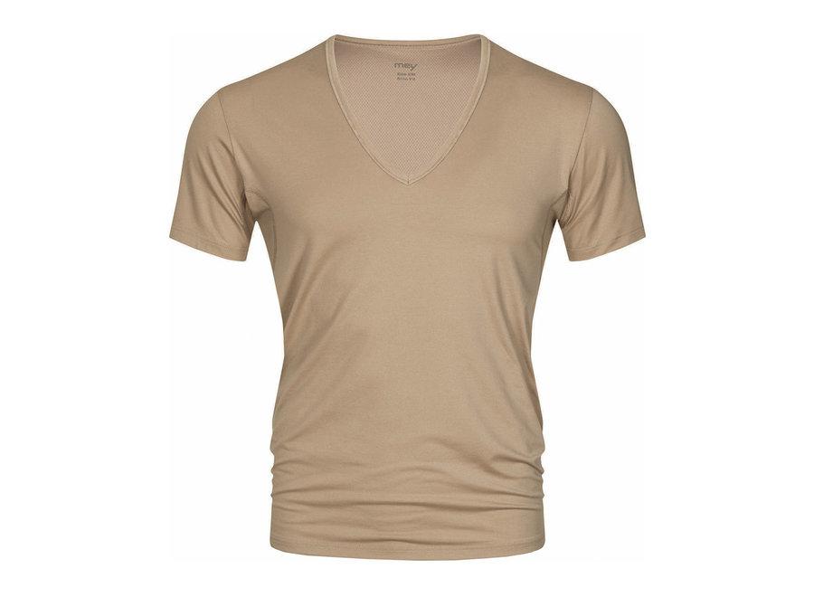 Dry Cotton V-Neck Light Skin