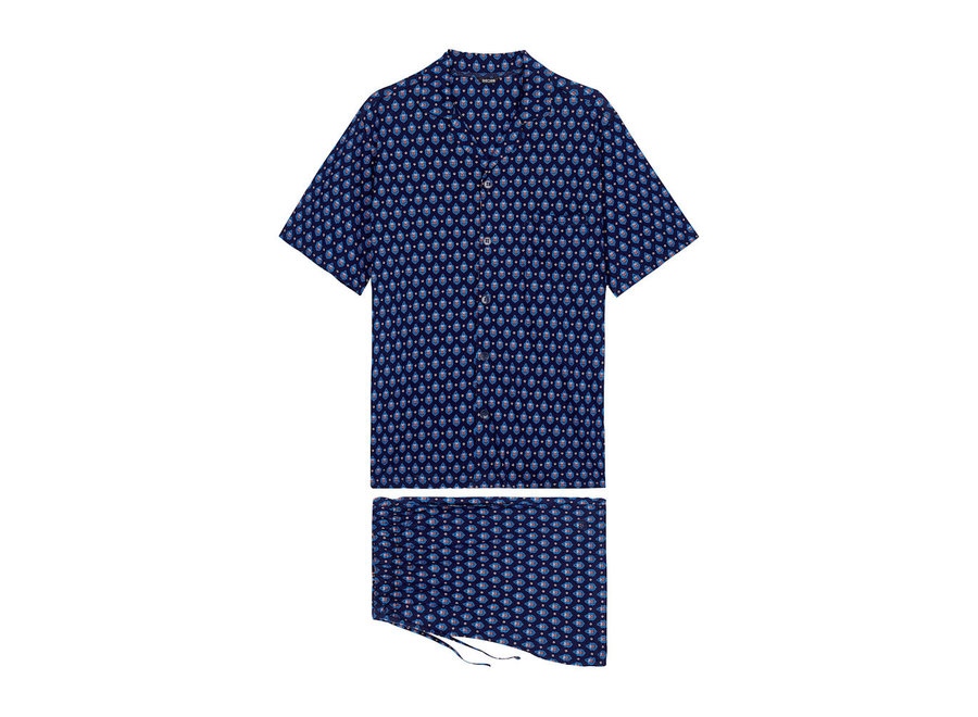 Frioul Short Sleepwear Navy Print