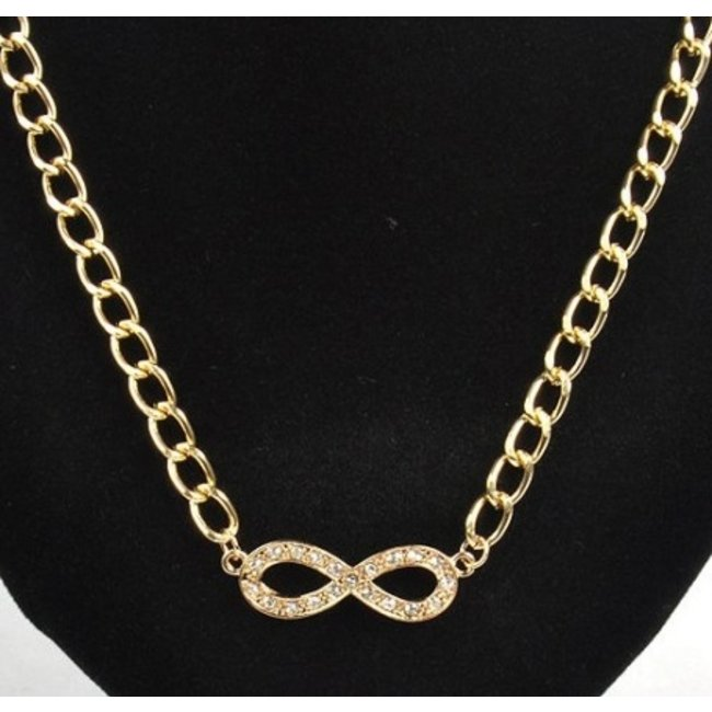 """Chunky """"Forever"""" Necklace"""