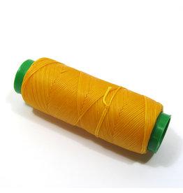 Gewaxt handnaaigaren geel