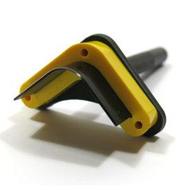 Eindkapper voor riemen (driehoek)