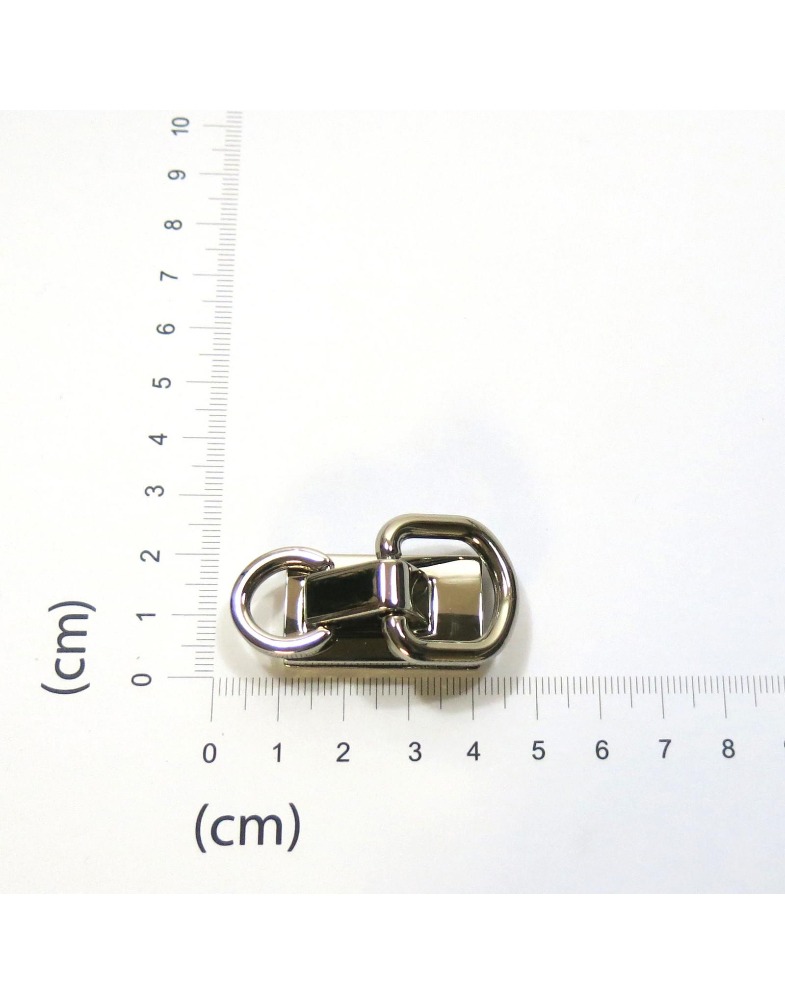 Hengselhouder dubbele ring