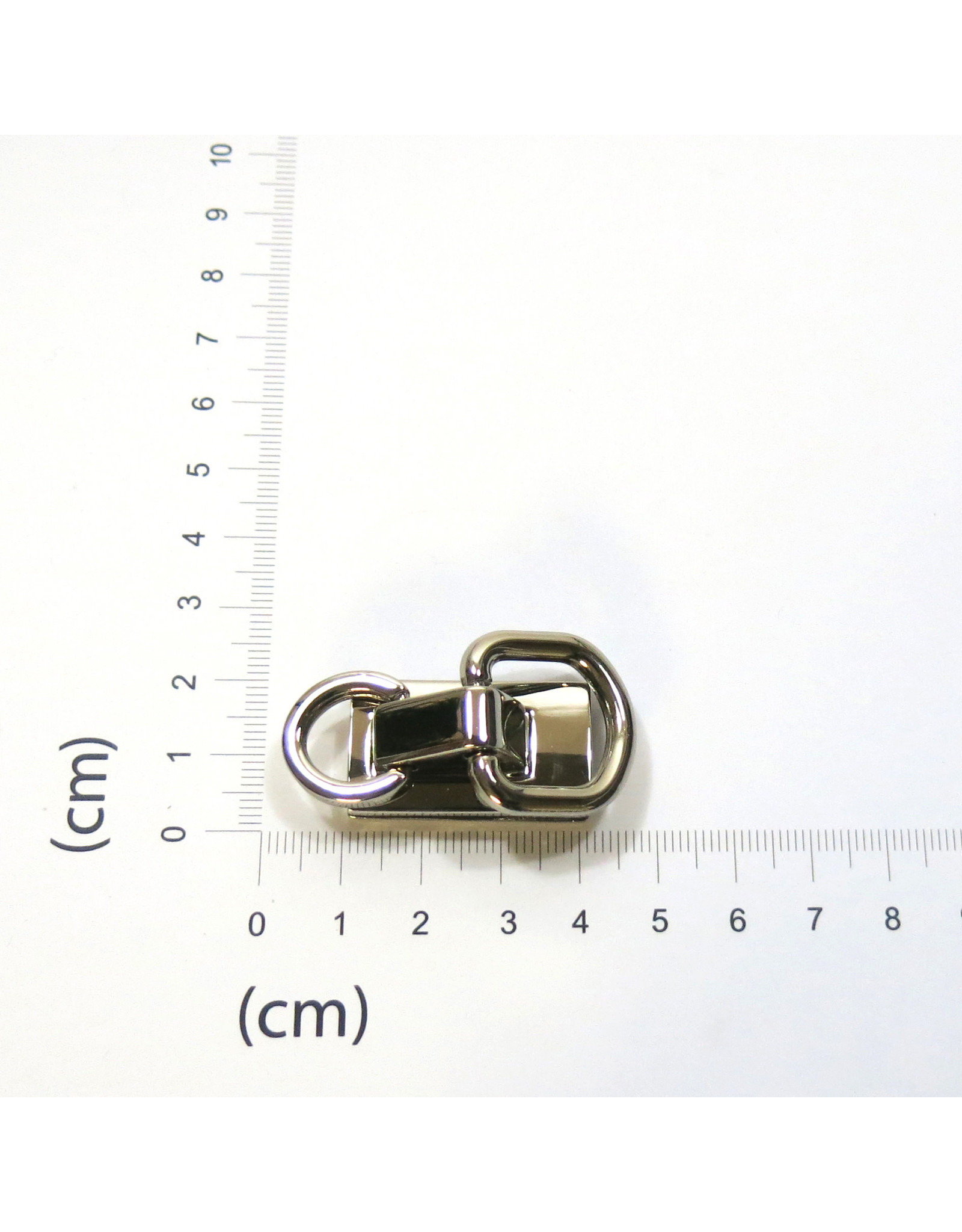 Strap connector double ring