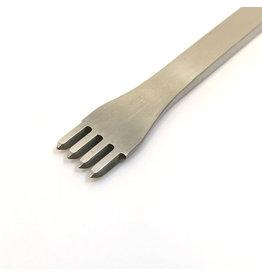 Diamond chisel 4-prong 3,5mm