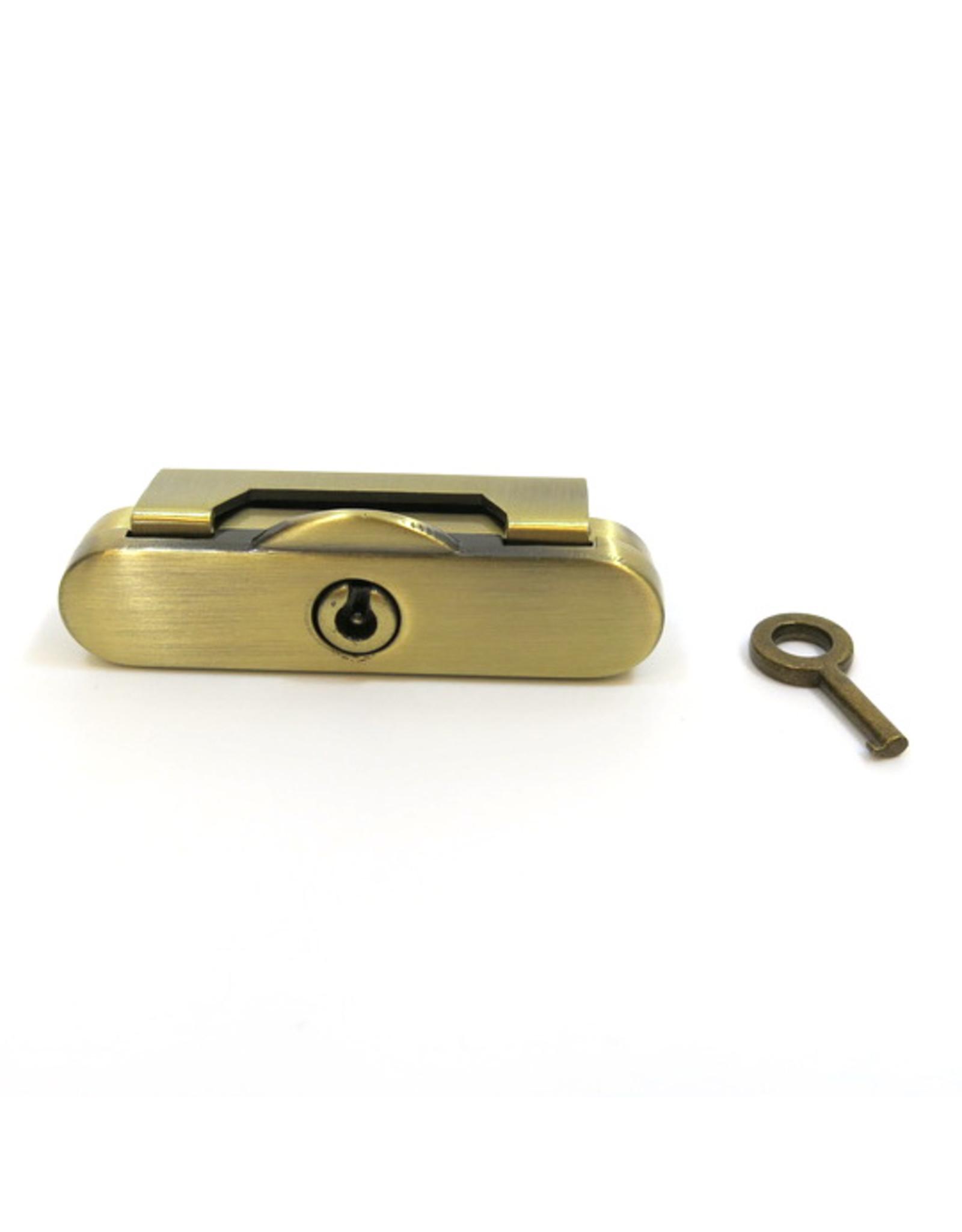 Beugelslot met sleutel