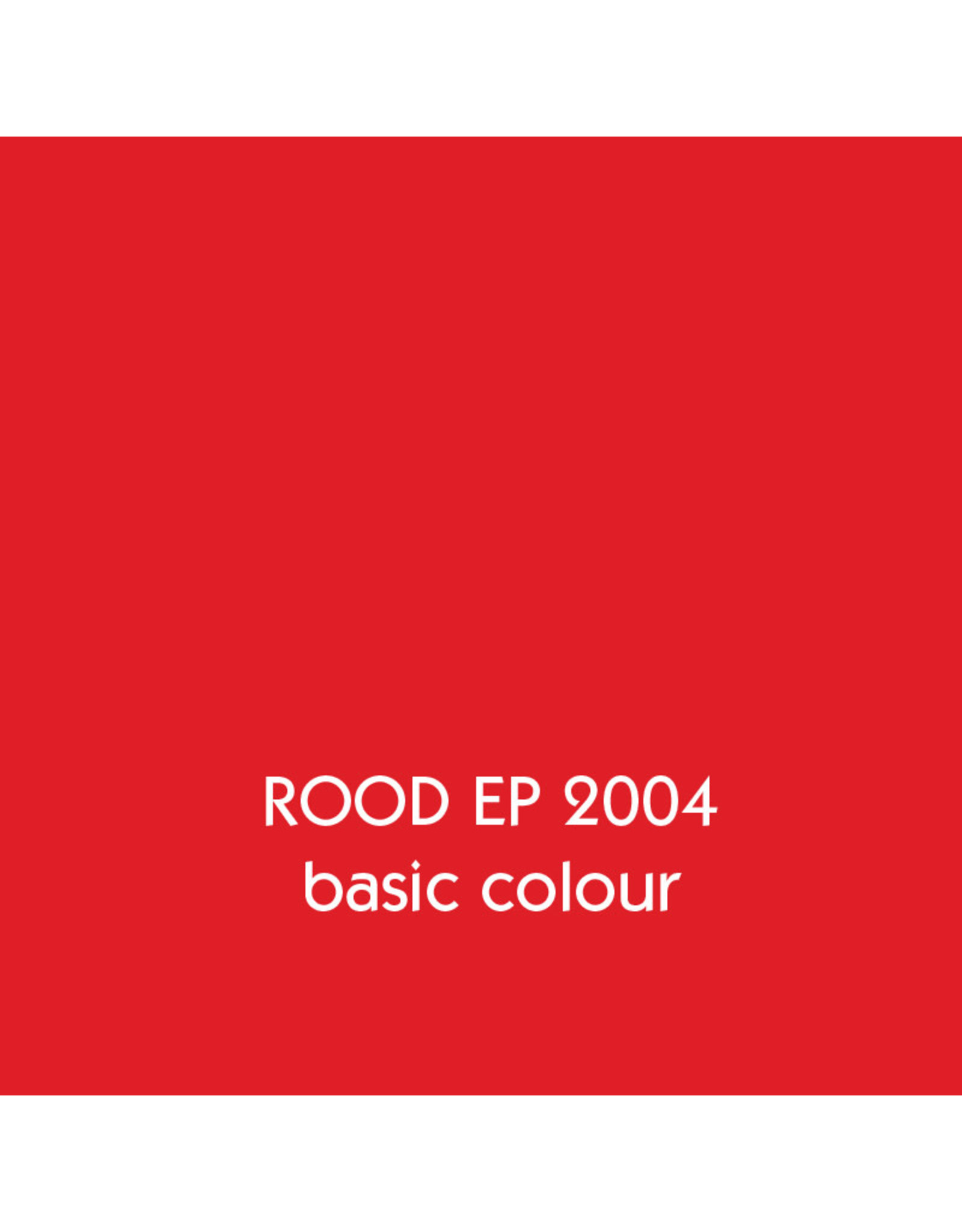 Uniters Edge paint RED 2004 matt