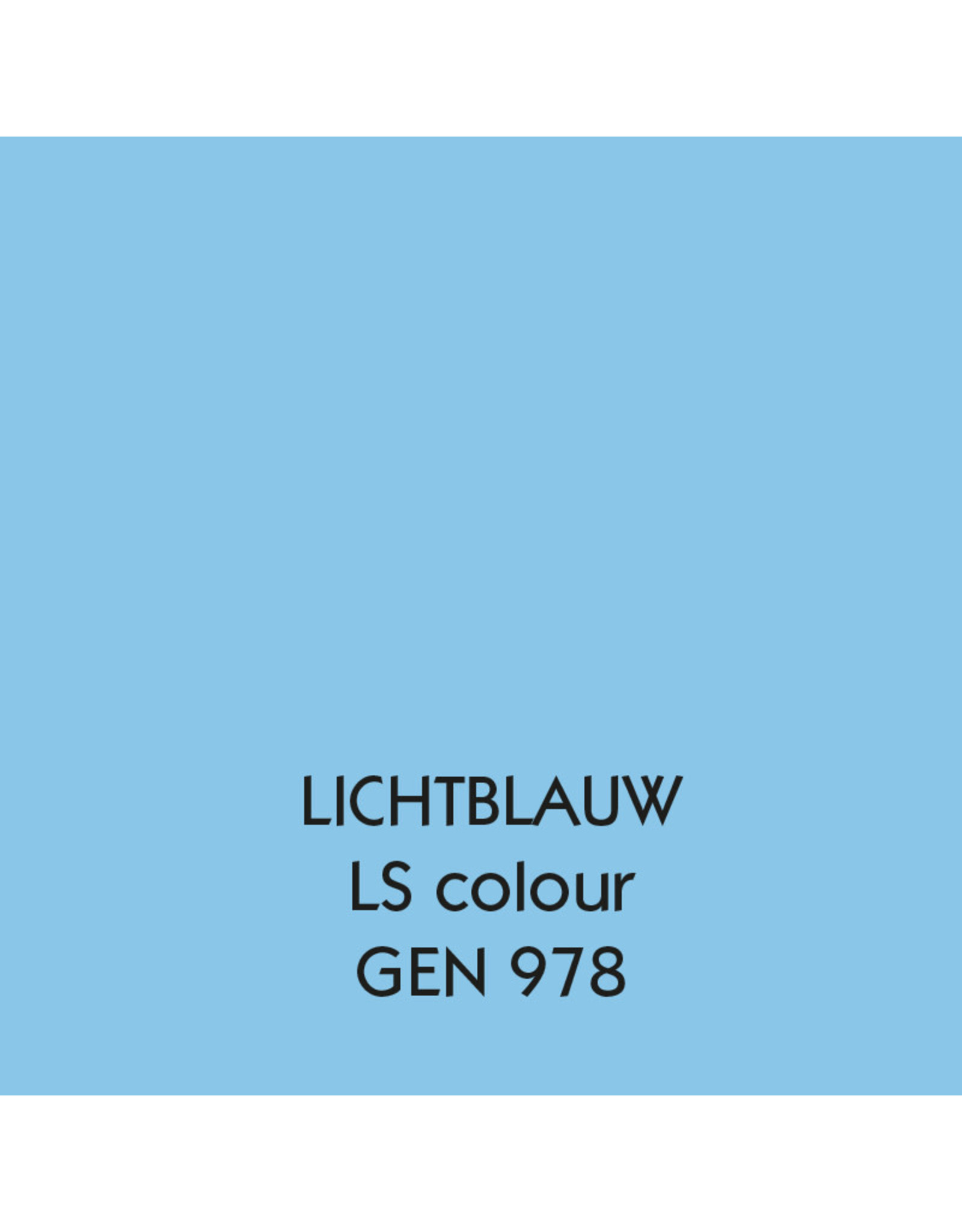 Uniters Randverf LICHTBLAUW 978 mat
