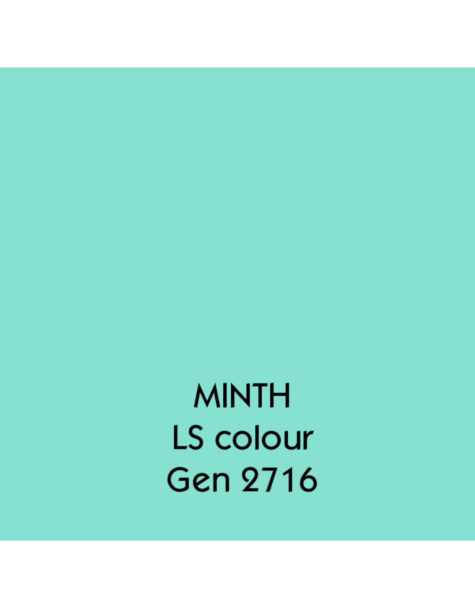 Uniters Edge paint MINTH 2716 matt