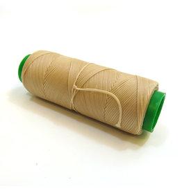 Waxed hand sewing thread Beige