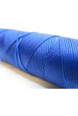 Waxed hand sewing thread royal blue