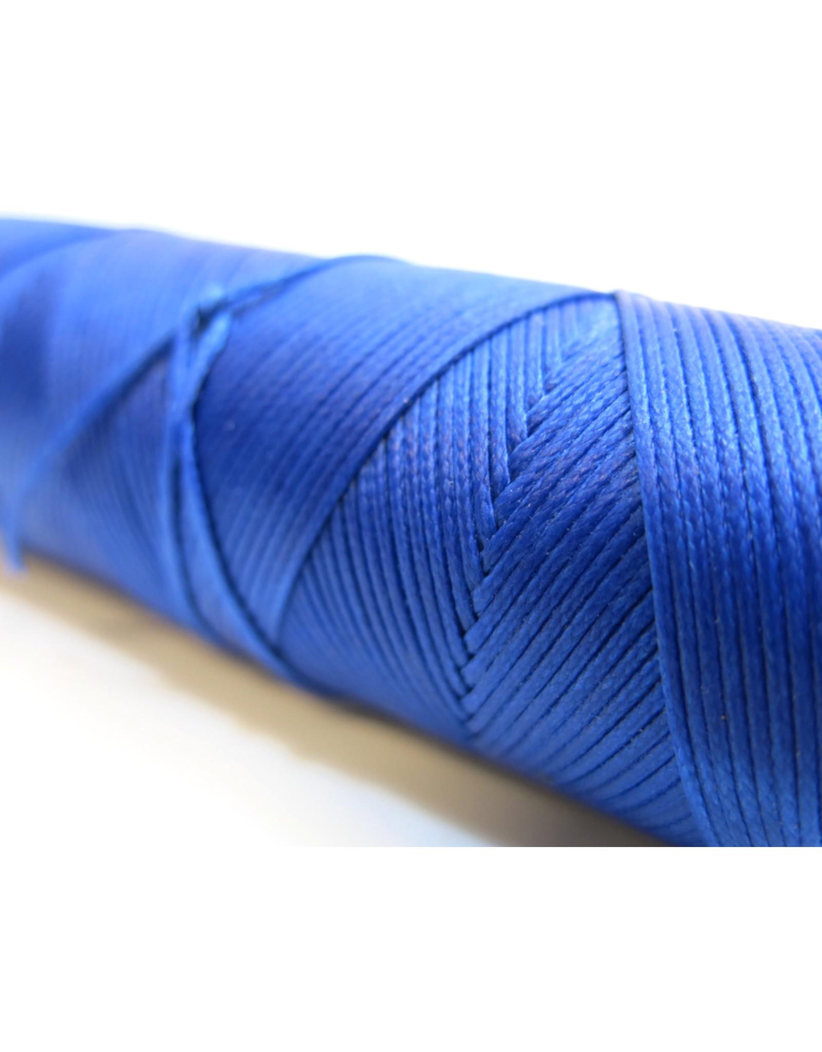 Gewaxt handnaaigaren koningsblauw