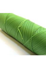 Waxed hand sewing thread apple green