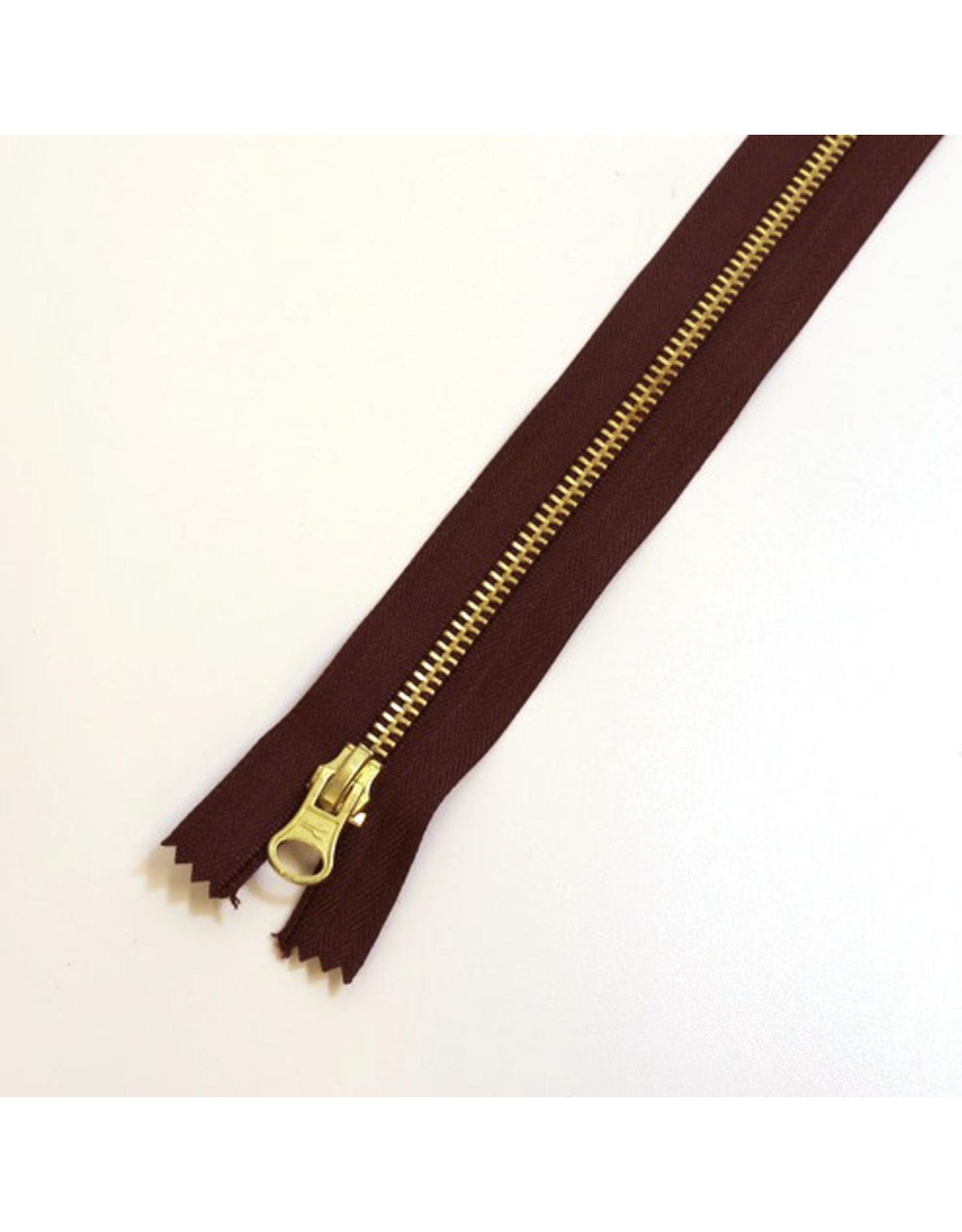 Metal zipper BORDEAUX