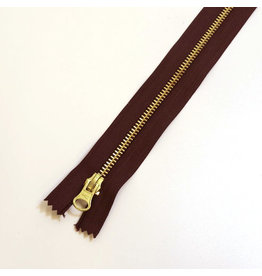 Metal zipper BORDEAUX