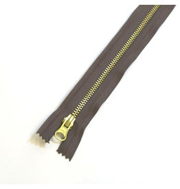 Metal zipper TURFBROWN