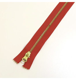 Metal zipper RED