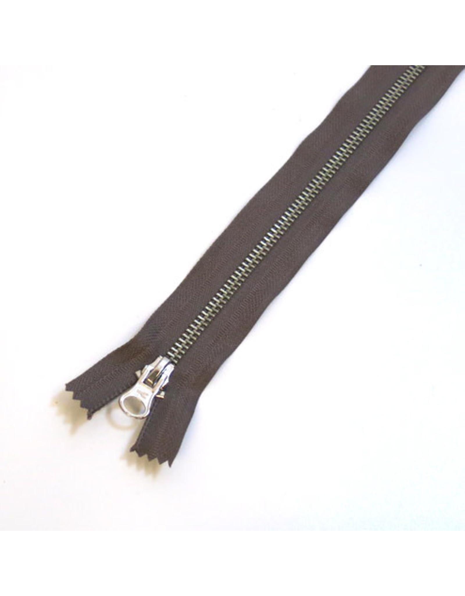 Metal zipper TURFBROWN