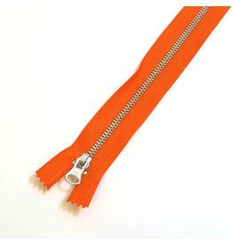 Metal zipper ORANGE