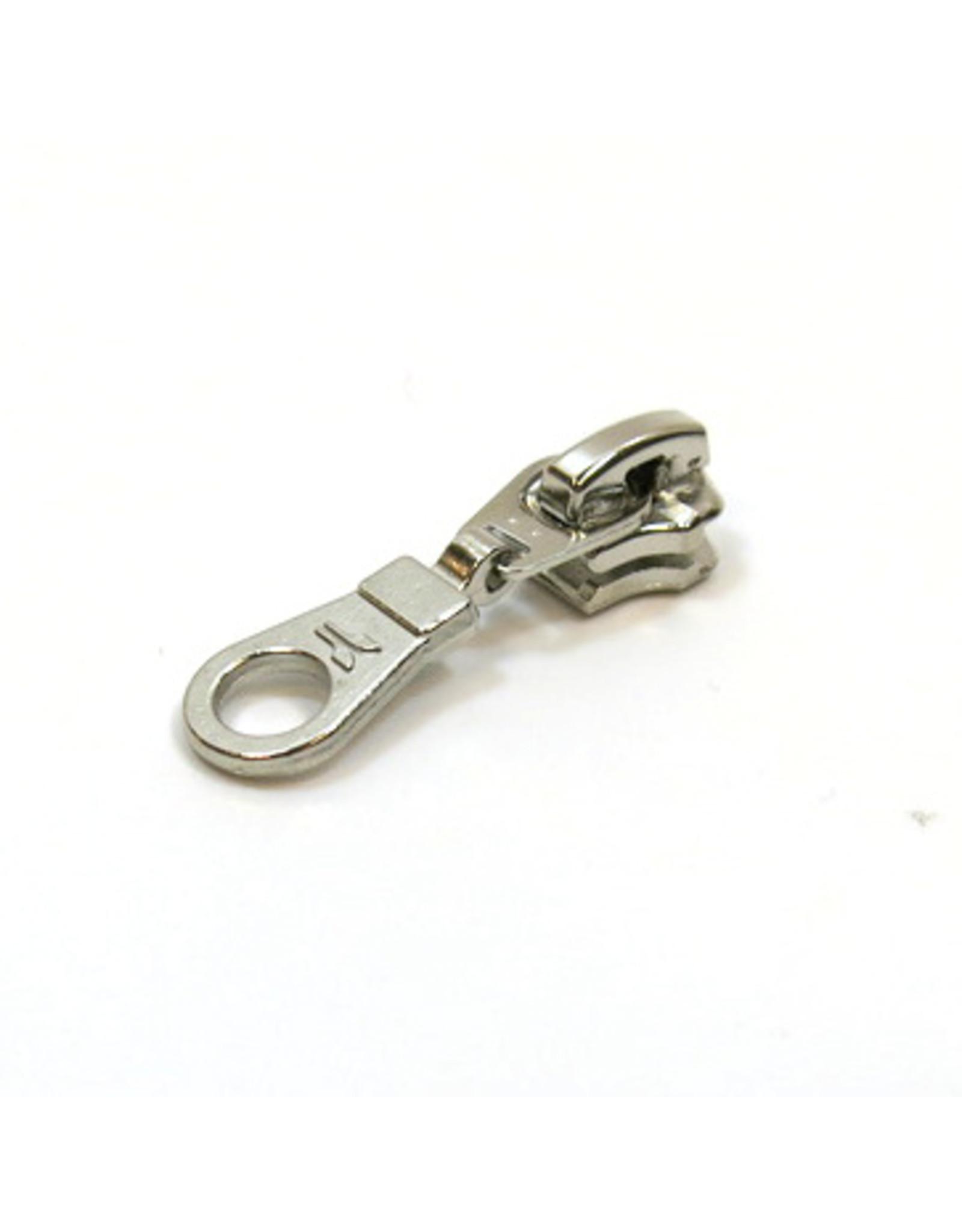 Zipper pull nickel