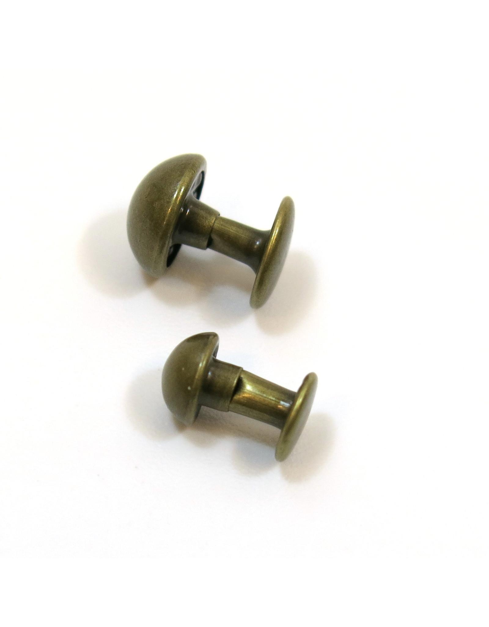 Bolle rivetten (brons)