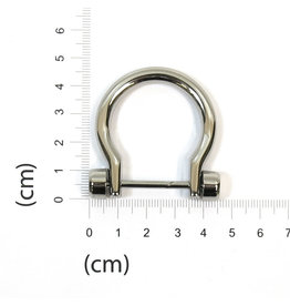 D-ring/Hengselhouder (opengaand)