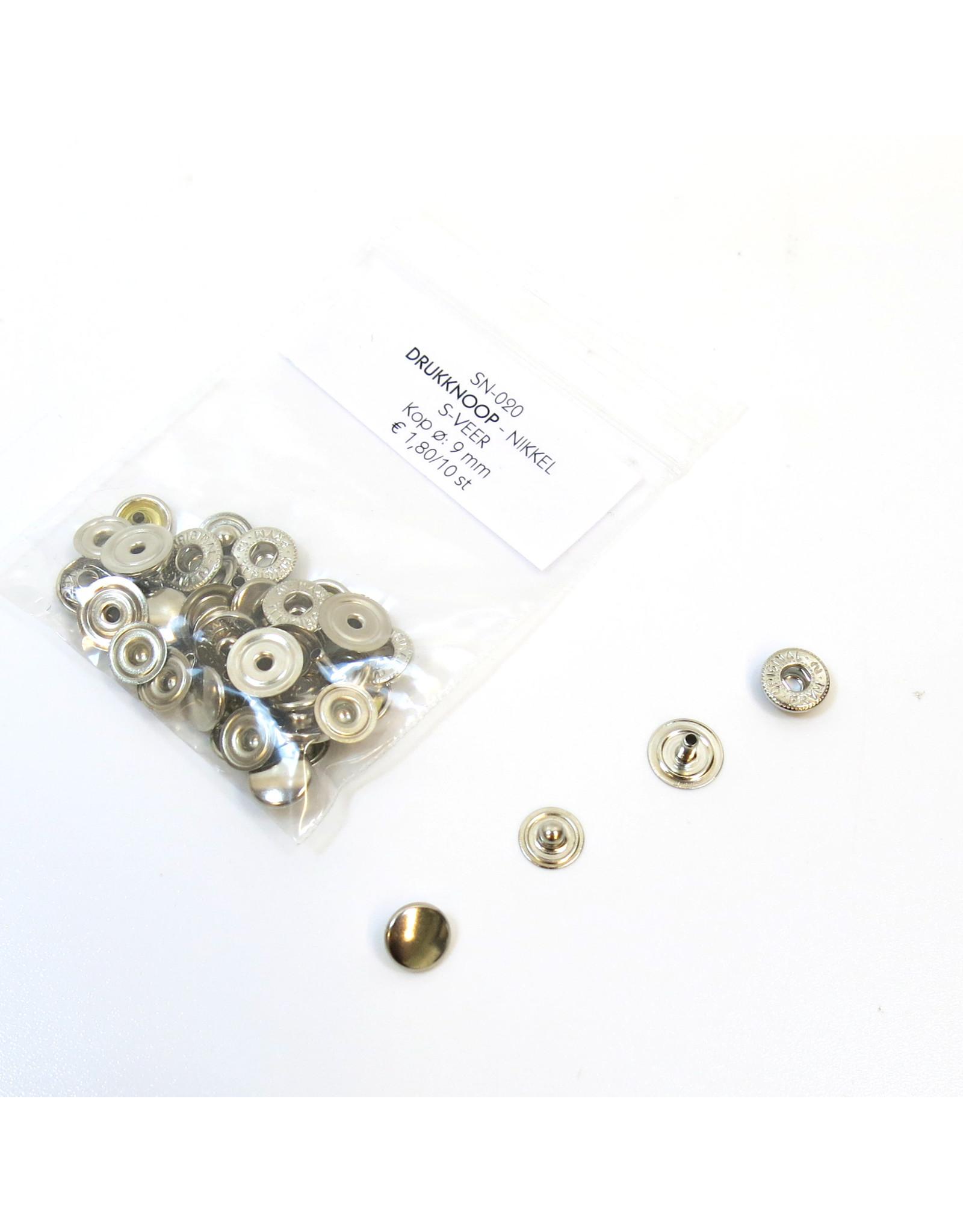 Snap button 9mm (10pcs)