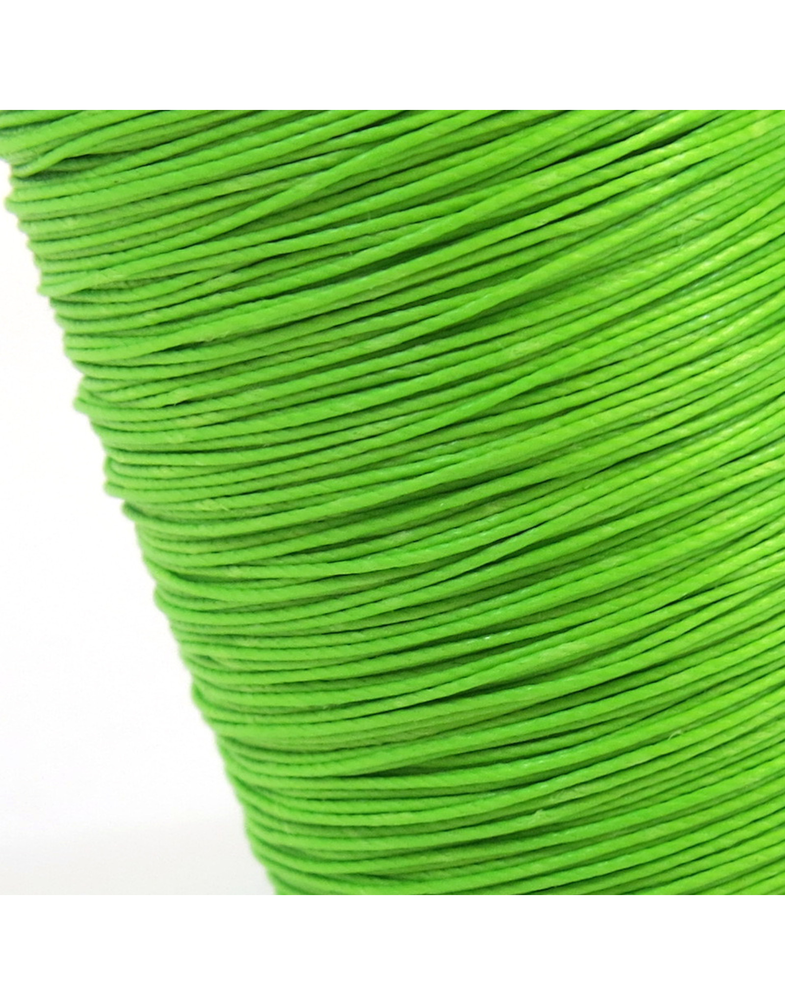 Hand sewing thread Lime green