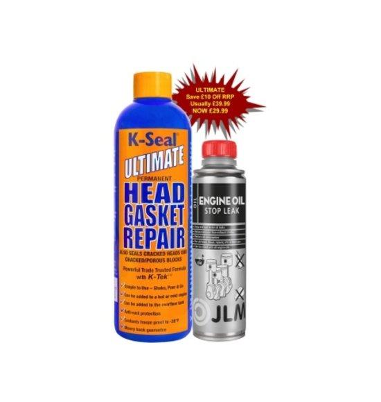 JLM Lubricants K-Seal ULTIMATE Head Gasket Repair Bundle