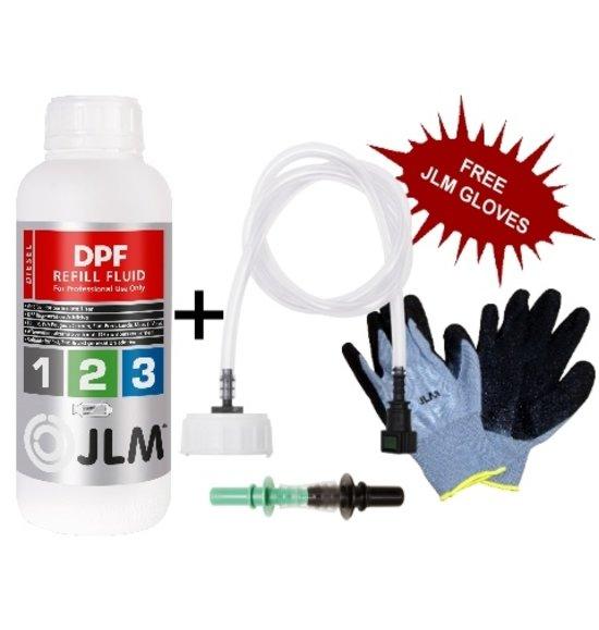 JLM Lubricants DPF Refill Fluid 1L + Refill Hose