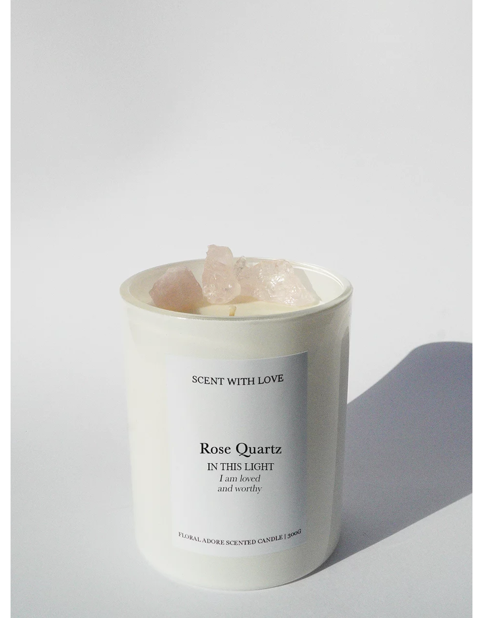 SCENT WITH LOVE Rose Quartz | Loved & Worthy