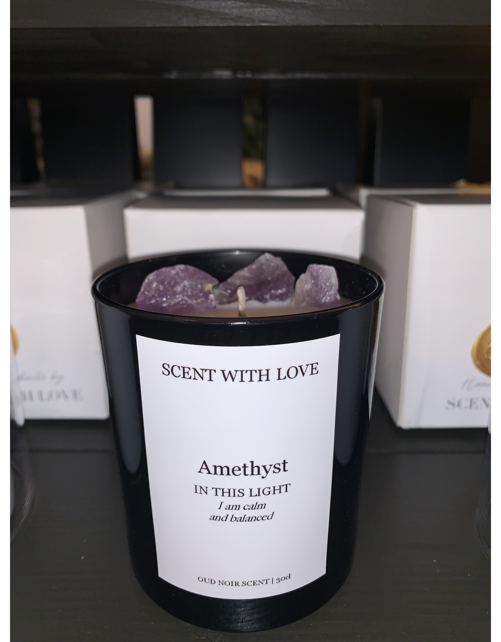 SCENT WITH LOVE Amethyst | Calm & Balanced
