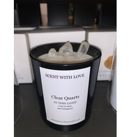 SCENT WITH LOVE Clear Quartz | In tune & Energised