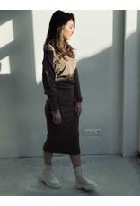 MW Bella Skirt Ash Brown