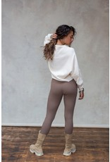 MW Fierce Knitted Pants Ash Brown