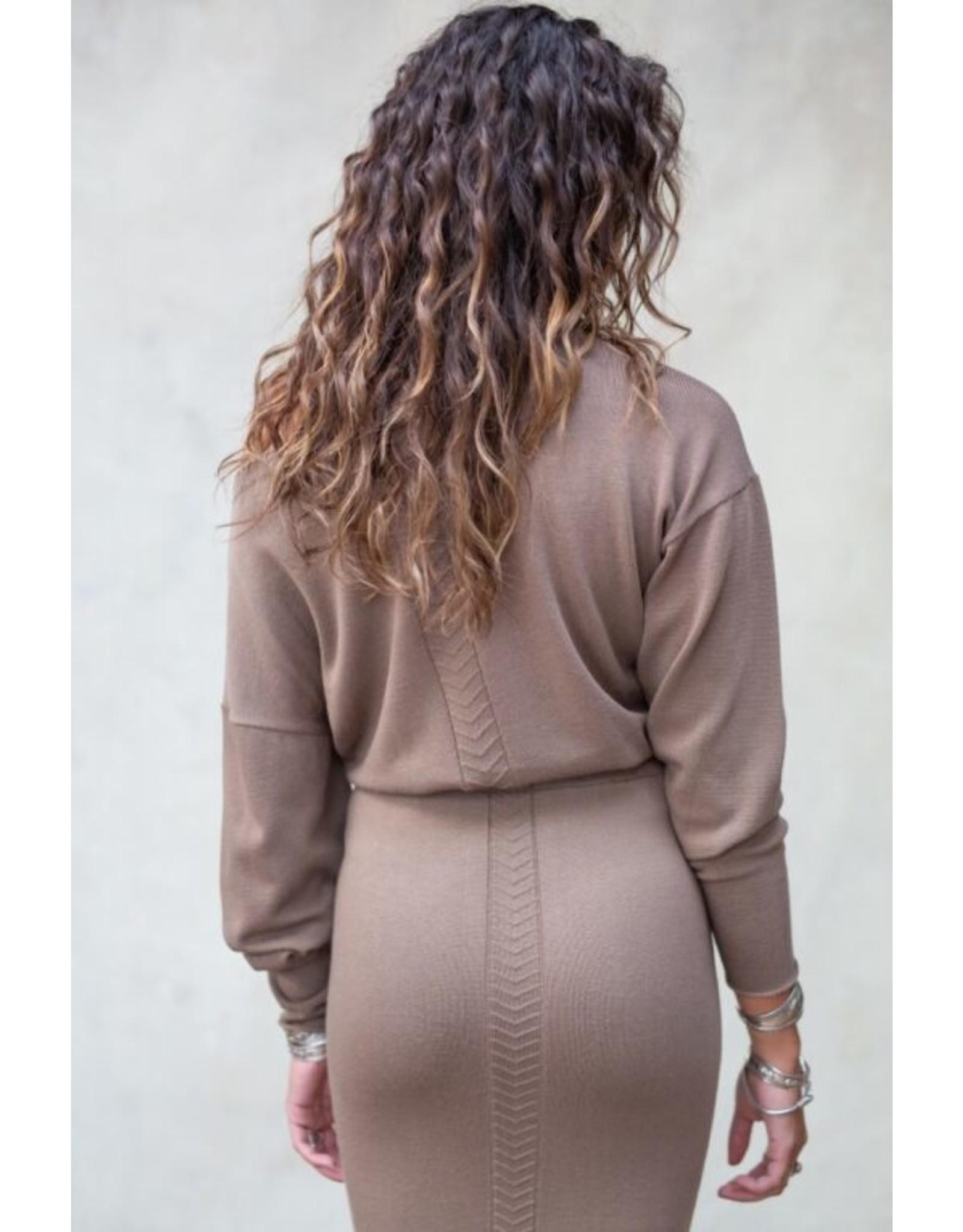 MW Bella Sweater Ash Brown