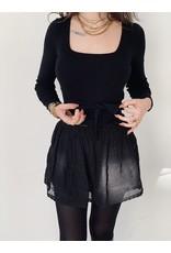 MW Nové Skirt Black